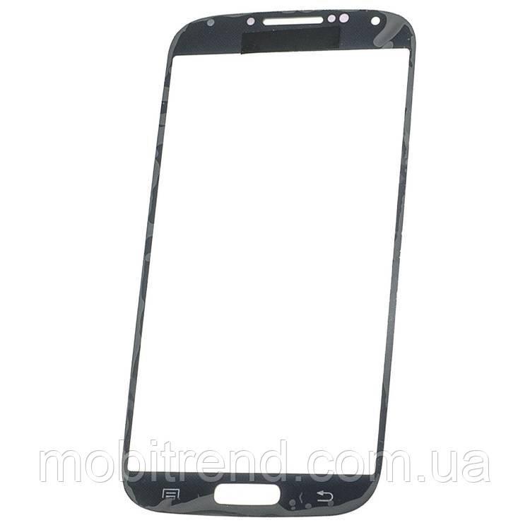 Стекло дисплея для переклейки Samsung S4 GT-i9500, i9505 Синий