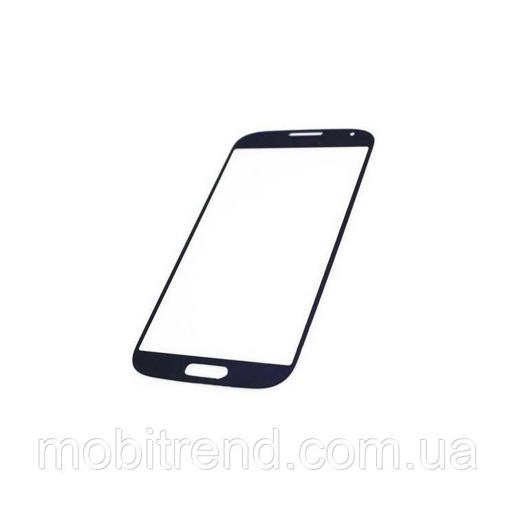 Стекло дисплея для переклейки Samsung S4 Mini GT-i9195, i9190, i9192 Синий