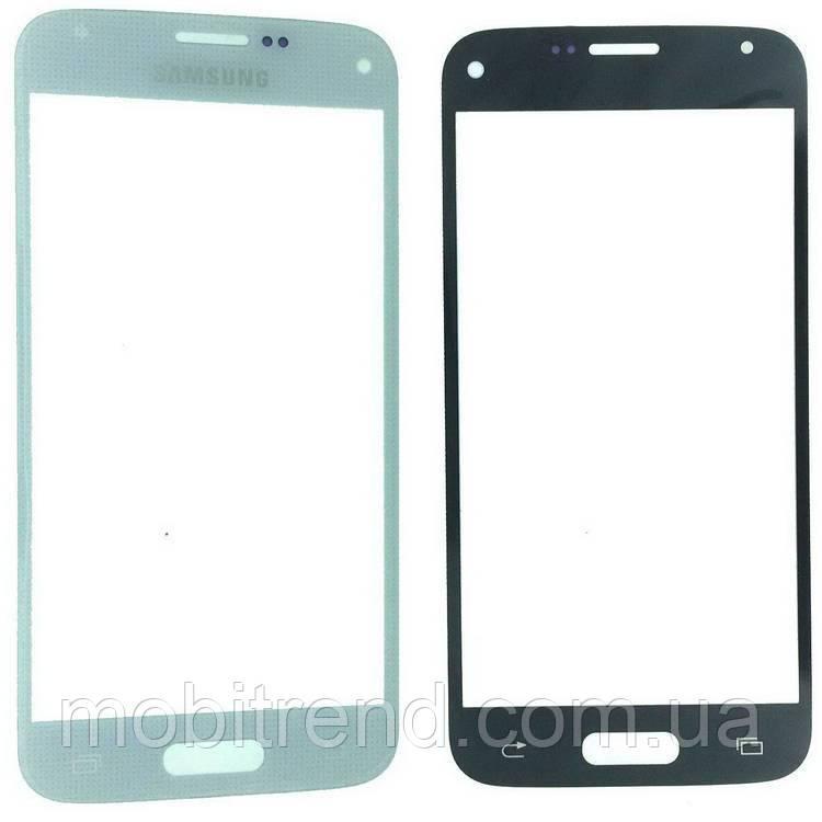 Стекло дисплея для переклейки Samsung S5 Mini G800F Белый
