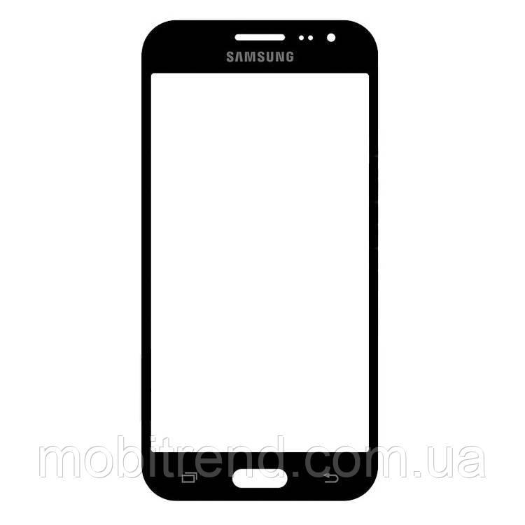 Стекло дисплея для переклейки Samsung J200 J2 Черный