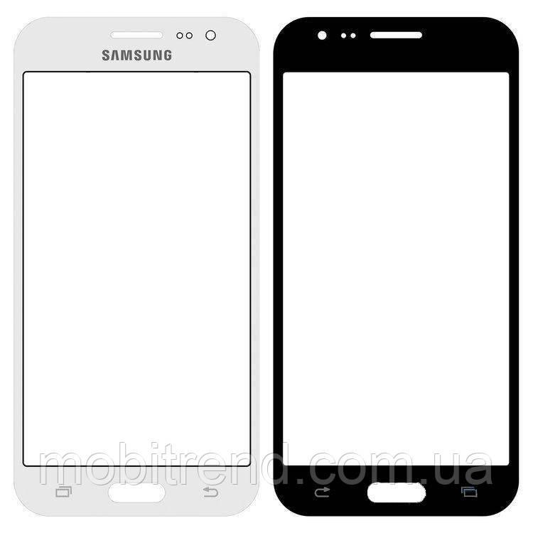 Стекло дисплея для переклейки Samsung J200 J2 Белый