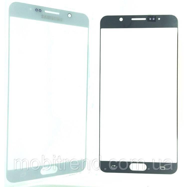Стекло дисплея для переклейки Samsung Note 5 Белый