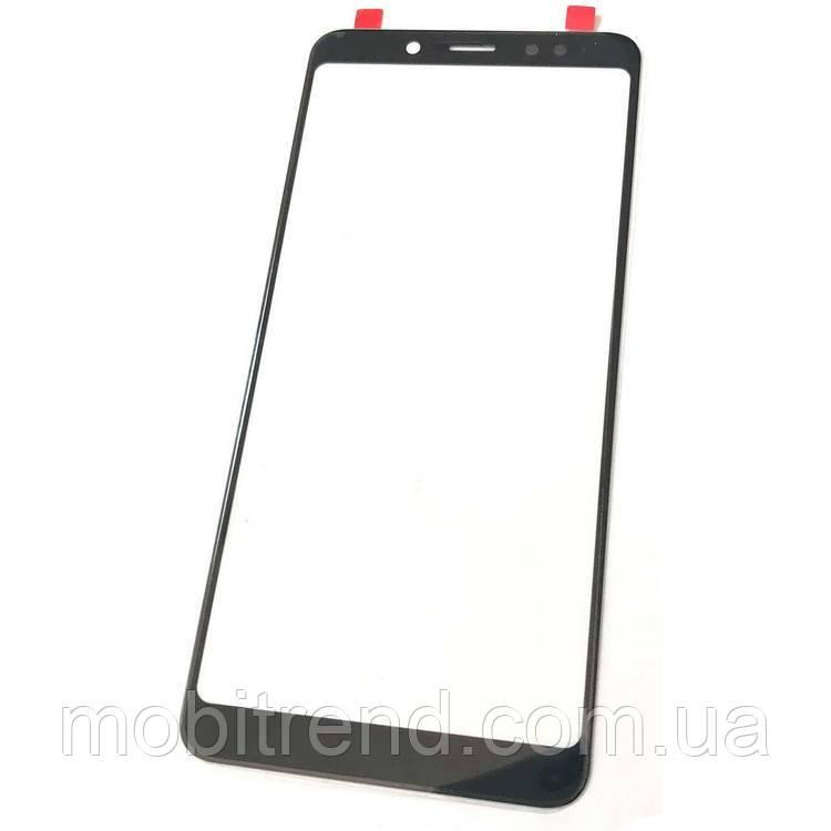 Стекло дисплея для переклейки Xiaomi Redmi Note 5, Redmi Note 5 Pro Черный