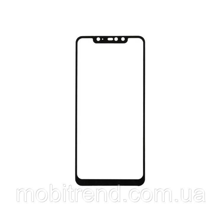 Стекло дисплея для переклейки Xiaomi Redmi Note 6 Pro Черный