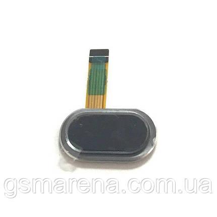 Шлейф Meizu M3, M3 Mini центральная кнопка (Home) Черный, фото 2