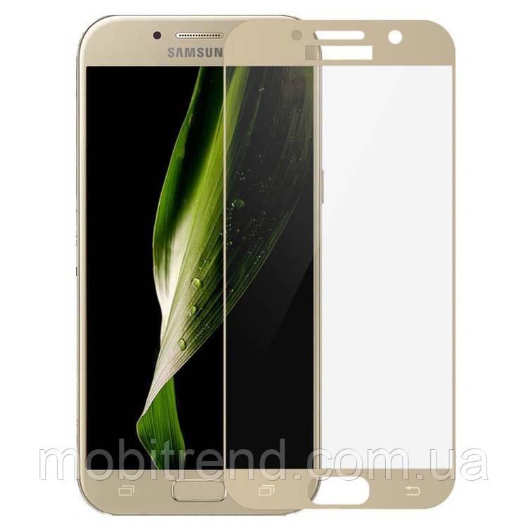 Стекло корпуса Samsung A500 A5 Золотой Оригинал
