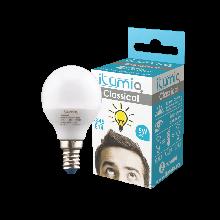 LED лампа Ilumia 5W Е14 G45 3000К теплый 500Lm (014)