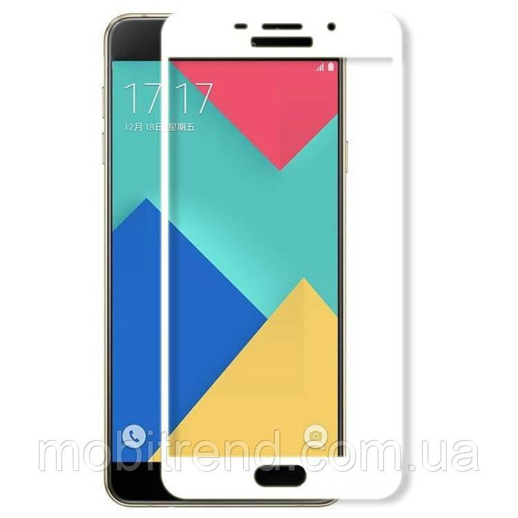 Стекло корпуса Samsung A510 A5 (2016) Белый Оригинал