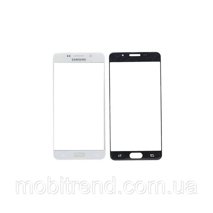 Стекло корпуса Samsung A510 A5 (2016), с OCA пленкой, Белый