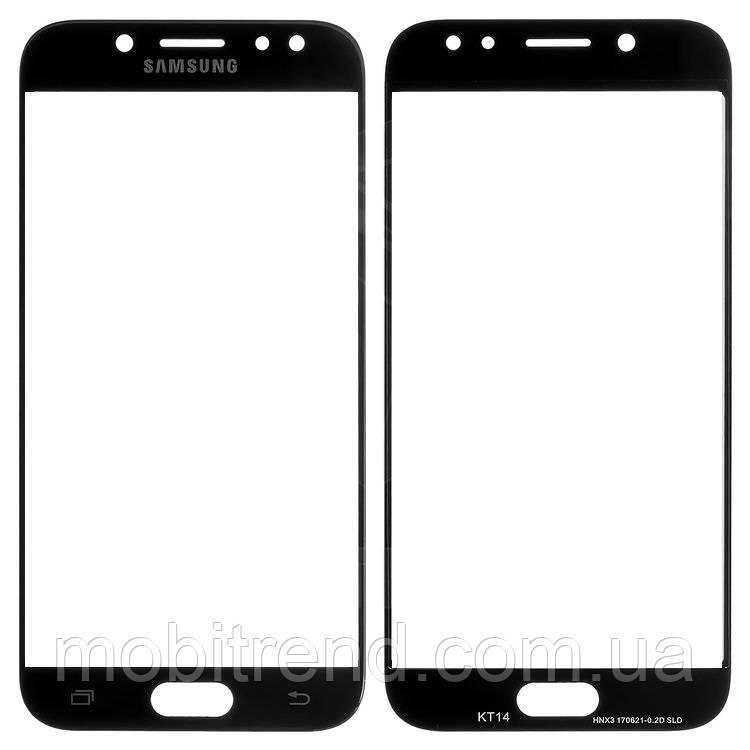 Стекло корпуса Samsung J530F J5 (2017) Черный Оригинал