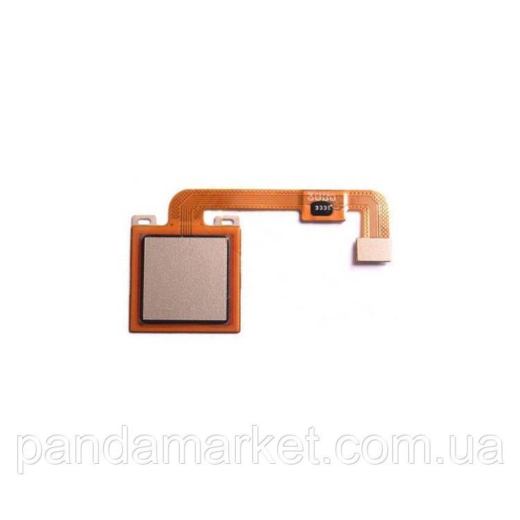 Шлейф сканера отпечатка пальца Xiaomi Redmi Note 4X Золотой