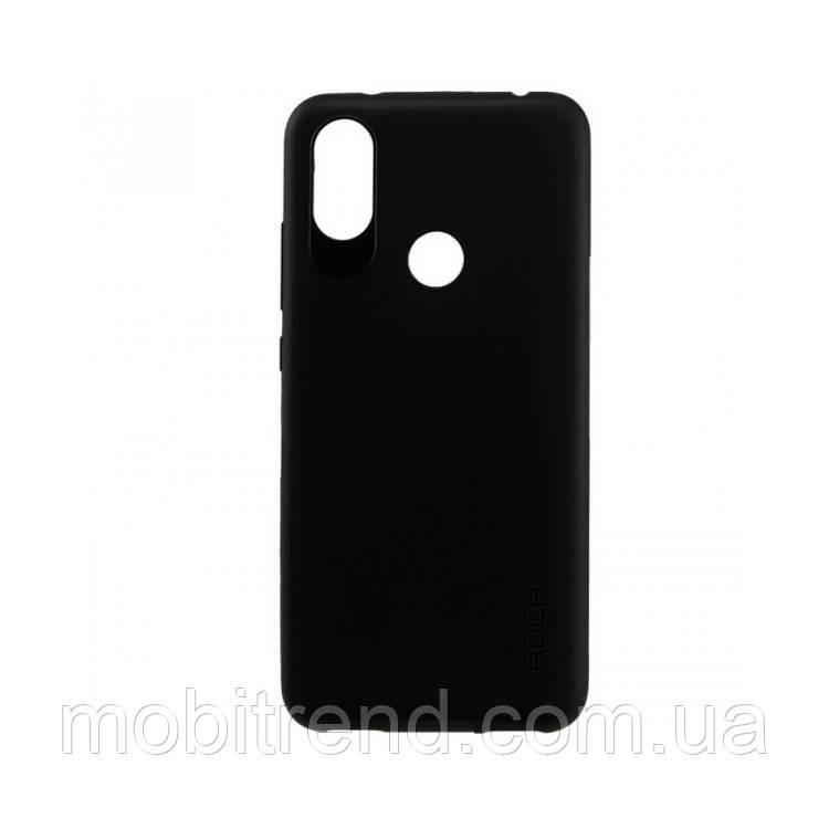 Чехол силиконовый Rock 0.3mm Xiaomi Redmi Note 6 Pro Черный