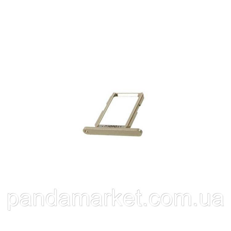 Сим держатель SIM холдер Apple iPhone 5 Bronze