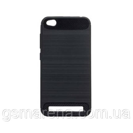 Чехол силиконовый Polished Carbon Xiaomi Redmi 5A Черный, фото 2
