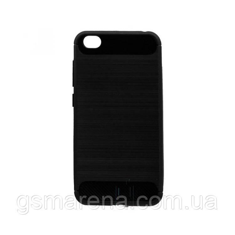 Чехол силиконовый Polished Carbon Xiaomi Redmi Go Черный