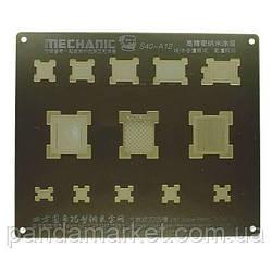 Трафарет BGA Mechanic A12 Apple iPhone XS, iPhone XR, iPhone XS Max