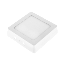 LED светильник Ilumia 6W нейтральный 120mm квадрат накладной (091)