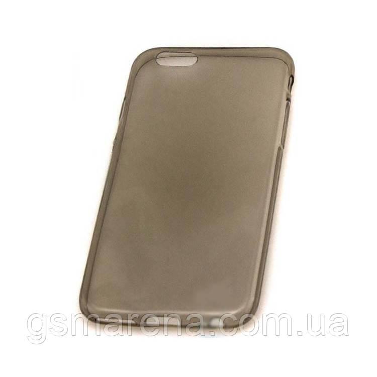Чехол силиконовый Premium Apple iPhone 6 затемненный