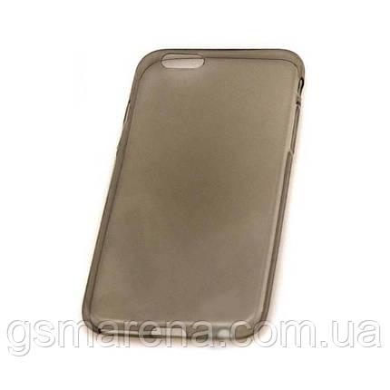 Чехол силиконовый Premium Apple iPhone 6 затемненный, фото 2