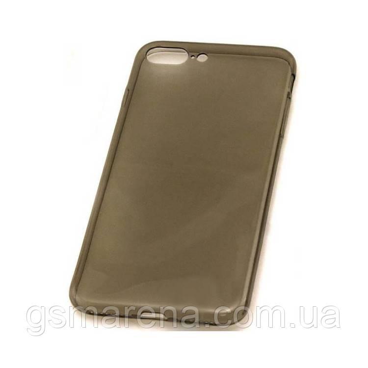 Чехол силиконовый Premium Apple iPhone 7 Plus затемненный