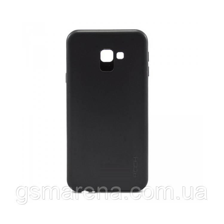 Чехол силиконовый Rock 0.3mm Samsung J4 Plus (2018) J415 Черный