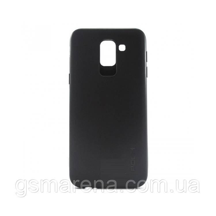 Чехол силиконовый Rock 0.3mm Samsung J6 (2018) J600 Черный