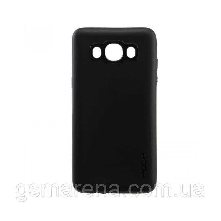 Чехол силиконовый Rock 0.3mm Samsung J7 (2016) J710 Черный