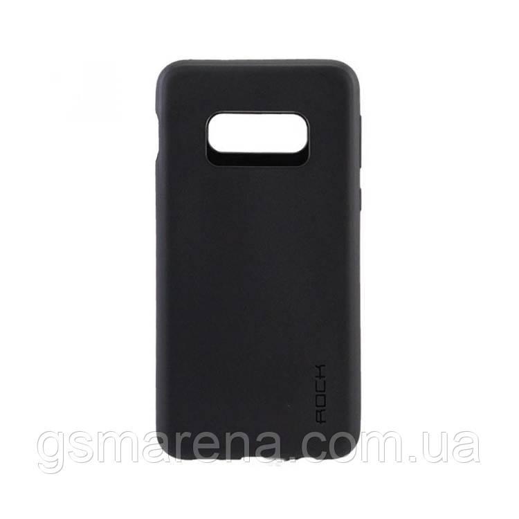 Чехол силиконовый Rock 0.3mm Samsung S10E G970 Черный