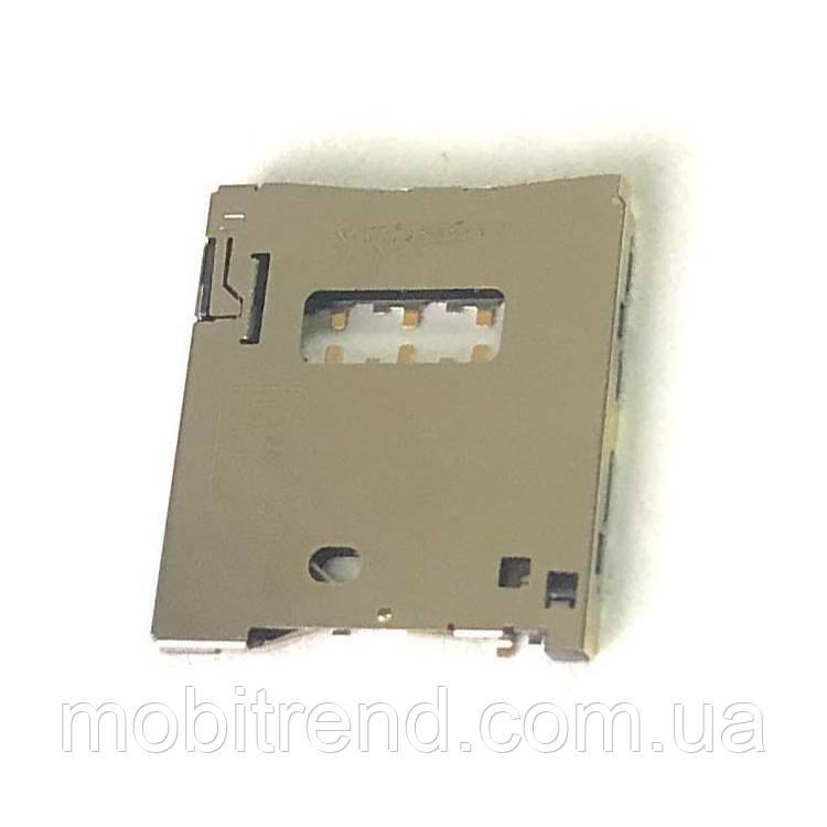 SIM коннектор Asus ZenFone 2
