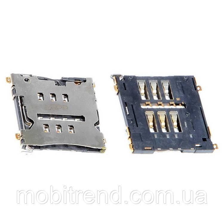 SIM коннектор HTC One X