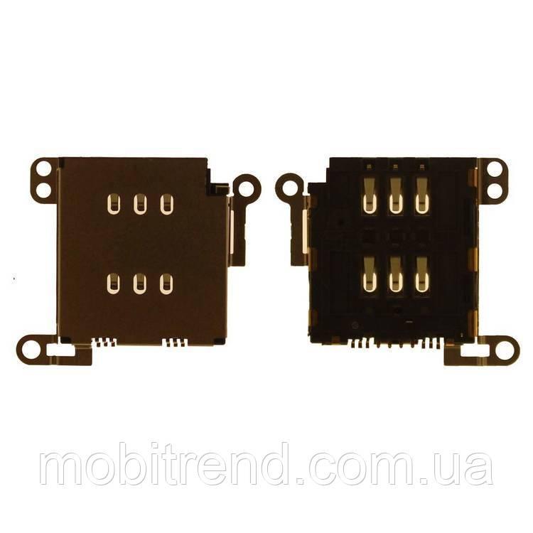 SIM коннектор Apple iPhone XS Max