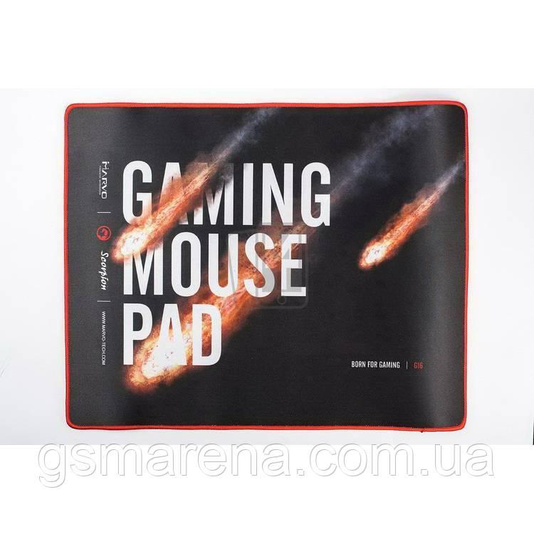 Коврик мышки игровой Marvo G16 прорезиненый (440x350x4mm)