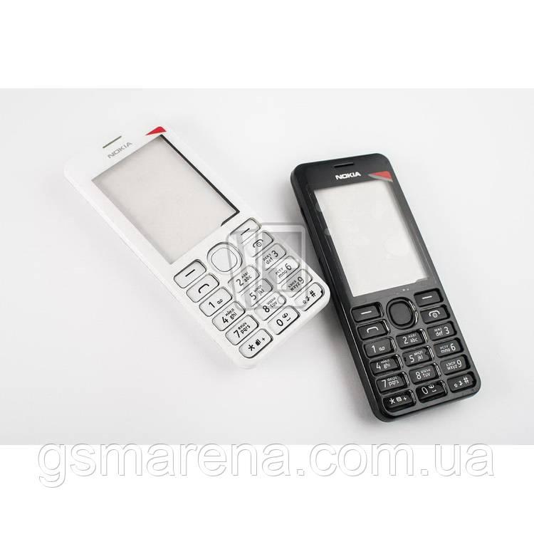 Корпус Nokia 206 полный комплект, Черный
