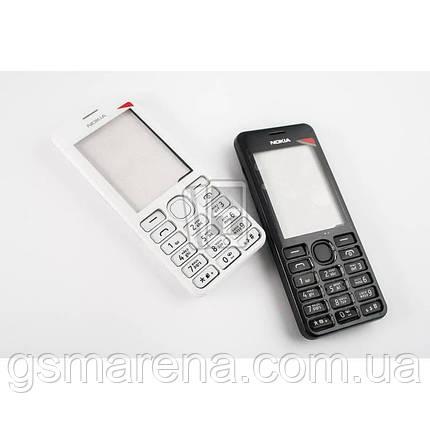 Корпус Nokia 206 полный комплект, Черный, фото 2