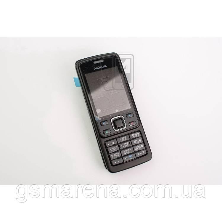 Корпус Nokia 6300 полный комплект, Черный
