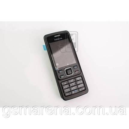Корпус Nokia 6300 полный комплект, Черный, фото 2