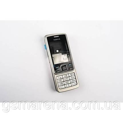 Корпус Nokia 6300 полный комплект, Серебро, фото 2