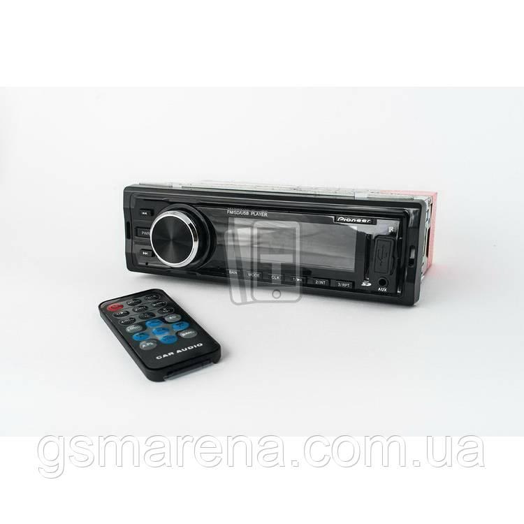 Автомагнитола Pioneer Deh 4102, USB, SD, FM, AUX (с пультом) Черный
