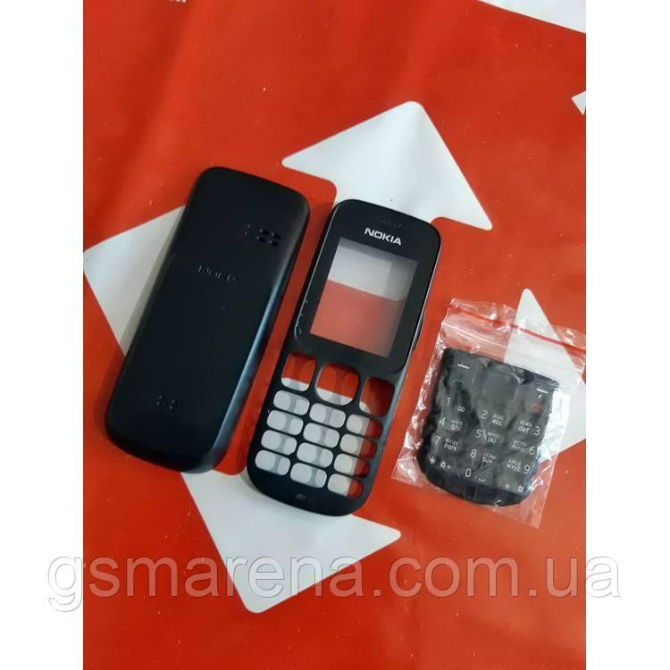 Корпус Nokia 101 передняя, задняя панель, клавиатура, Черный