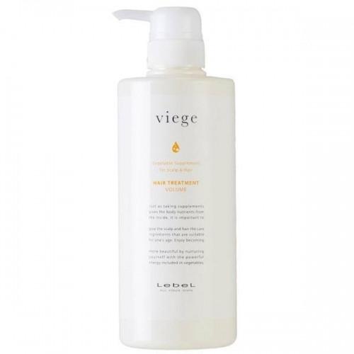 Маска для объема волос Lebel Viege Treatment Volume 600 мл.