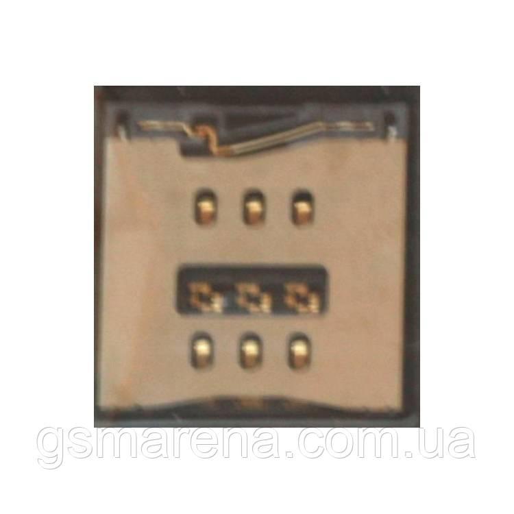 Коннектор SIM Apple iPhone 5, iPhone 5C, iPhone 5S SIM reader Оригинал