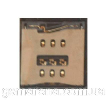 Коннектор SIM Apple iPhone 5, iPhone 5C, iPhone 5S SIM reader Оригинал, фото 2