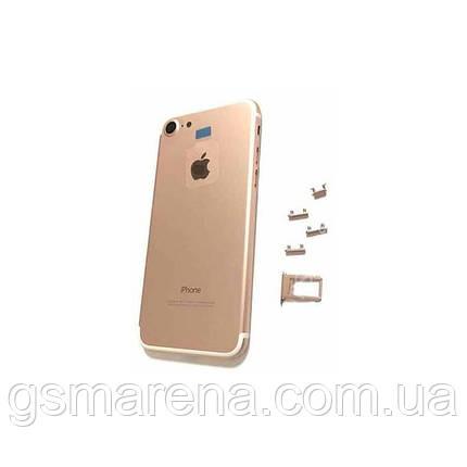 Задняя часть корпуса Apple iPhone 6 (4.7) подобно 7 Rose Золотой, фото 2