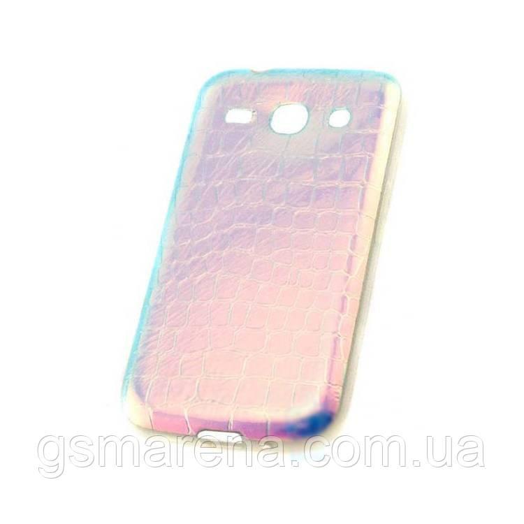 Чехол силиконовый Dekkin Snake Samsung Star Advance G350 хамелеон Синий