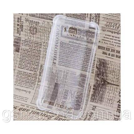 Чехол силиконовый Huawei Y3 II усиленный прозрачный, фото 2