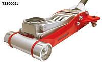 Профессиональный подкатной гидравлический алюминиевый домкрат Torin Jack T830002L