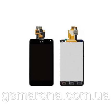 Дисплей модуль LG E971 Optimus G, E970, E973, E975, E976, E977, LS970, F180K, F180L Черный, фото 2