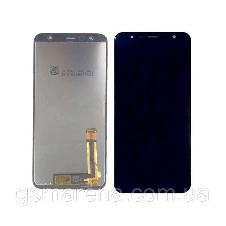 Дисплей модуль Samsung J415F J4 Plus (2018), J610F J6 Plus (2018) Черный (Сервисный модуль)