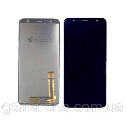 Дисплей модуль Samsung J415F J4 Plus (2018), J610F J6 Plus (2018) Черный (Сервисный модуль), фото 2