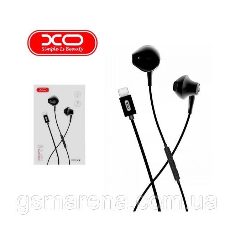 Наушники с микрофоном XO S30 Type-C Черный